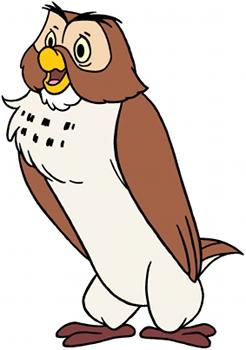 Owl From Disney Winnie The Pooh Weirdspace